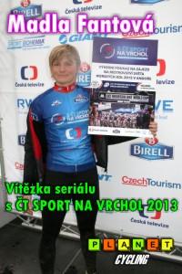 Madla Fantová vítězka S ČT SPORT NA VRCHOL 2013